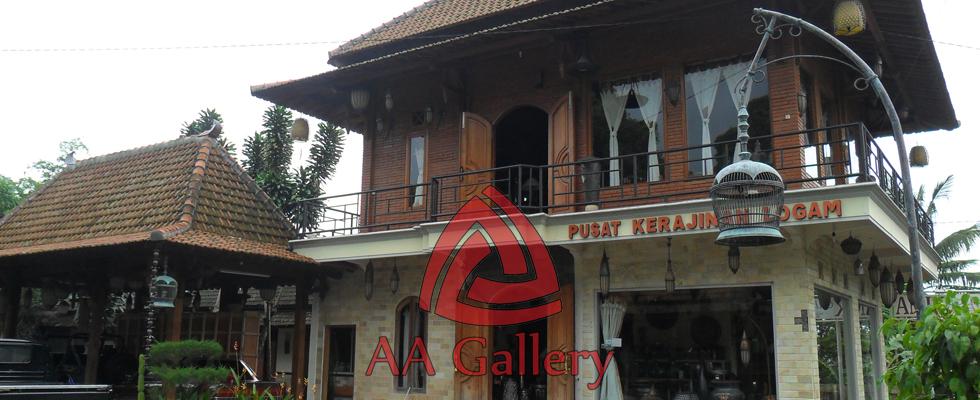 Kerajinan Tembaga dan Kuningan AA Gallery