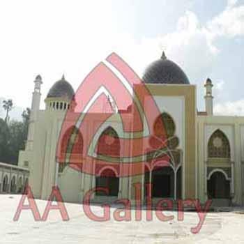 Kubah Masjid Tembaga Islamic Center Padang Panjang